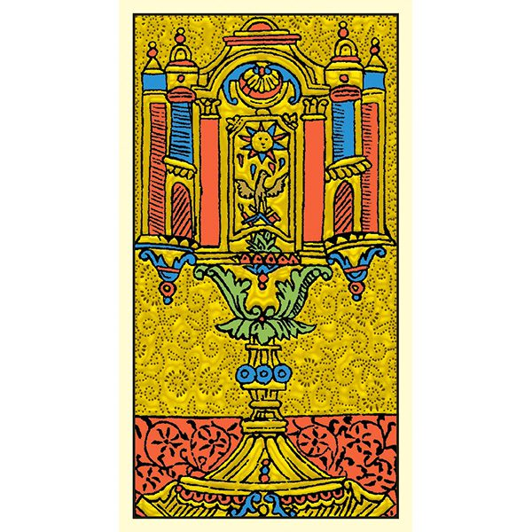 Golden Marseille Tarot 4