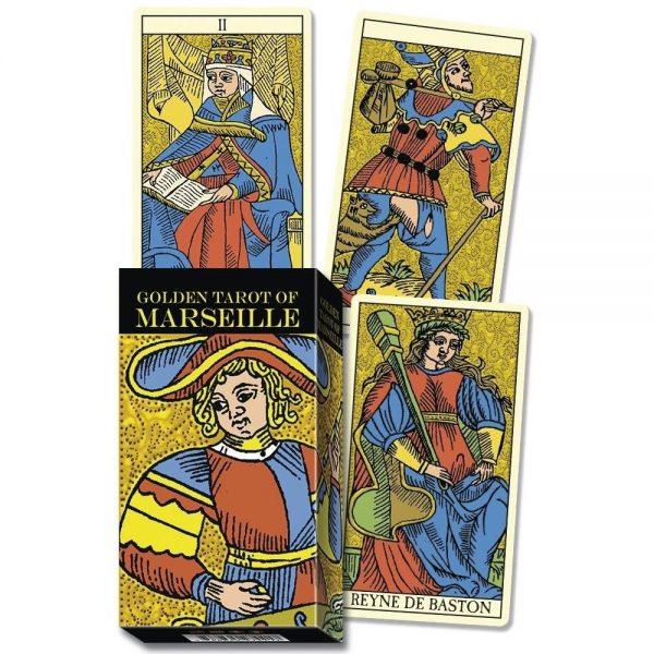 Golden Marseille Tarot 6