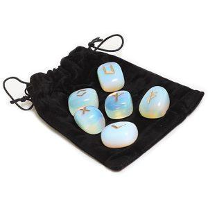 Bộ Đá Runes Moonstone 6