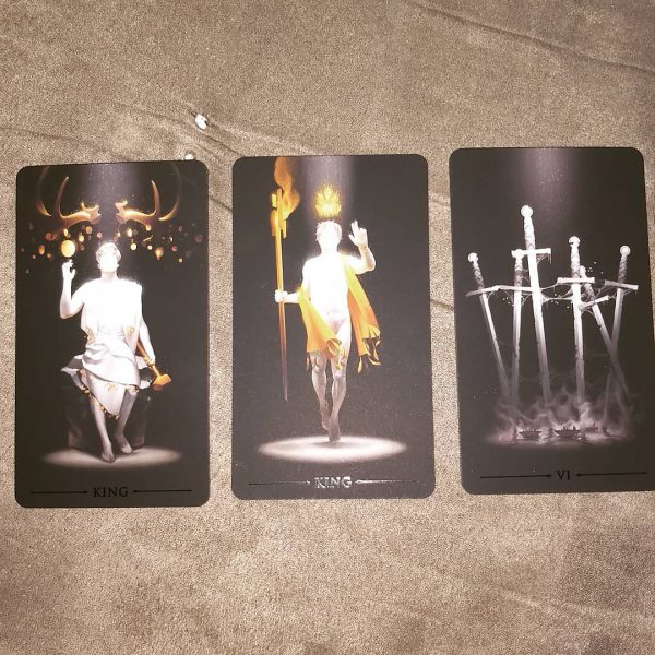 True Black Tarot 5