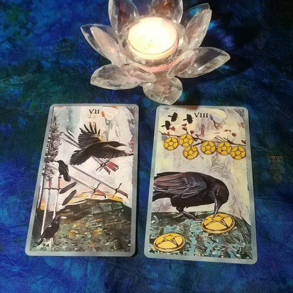 Crow Tarot 11