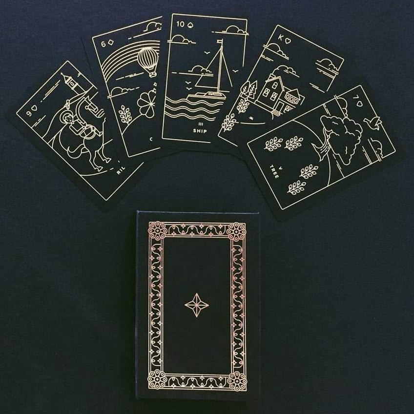 Golden Thread Lenormand 9