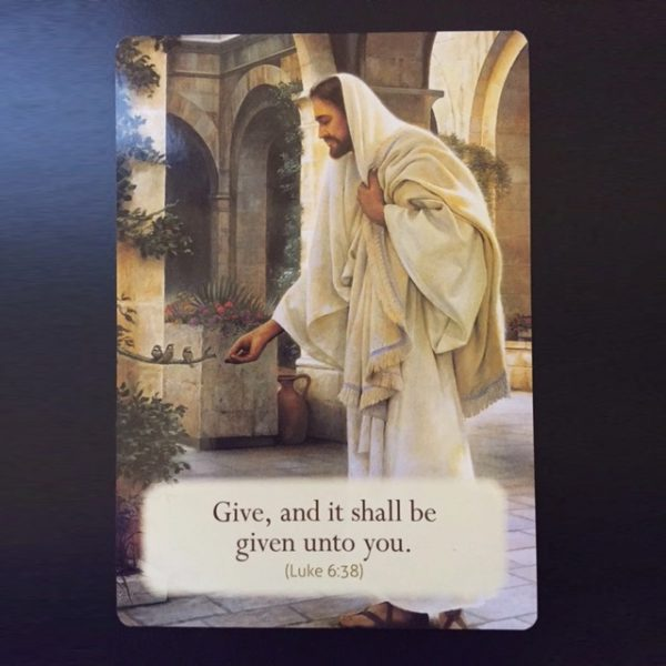 Loving Words from Jesus Cards 3