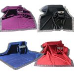 Combo Khăn & Tui (Dark Violet, Midnight Blue, Scarlet Red, Onyx Black) 66×66 & 12×18 320k (1)