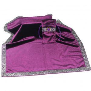 Khăn & Túi Tarot Art Nouveau Dark Violet (Tím) 3