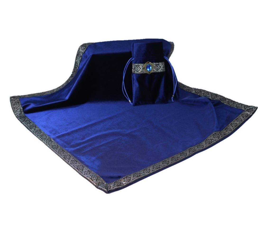Khăn & Túi Tarot Art Nouveau Midnight Blue (Xanh) 18