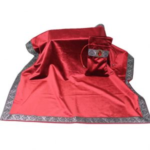 Khăn & Túi Tarot Art Nouveau Scarlet Red (Đỏ) 4
