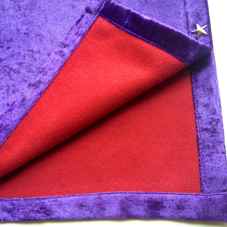 Khăn Trải Bài Tarot Royal Purple (Tím) 13