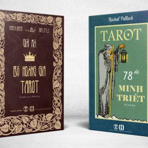 Combo Sách Tarot 78 Độ Minh Triết + Giải Mã Bộ Hoàng Gia Tarot 2