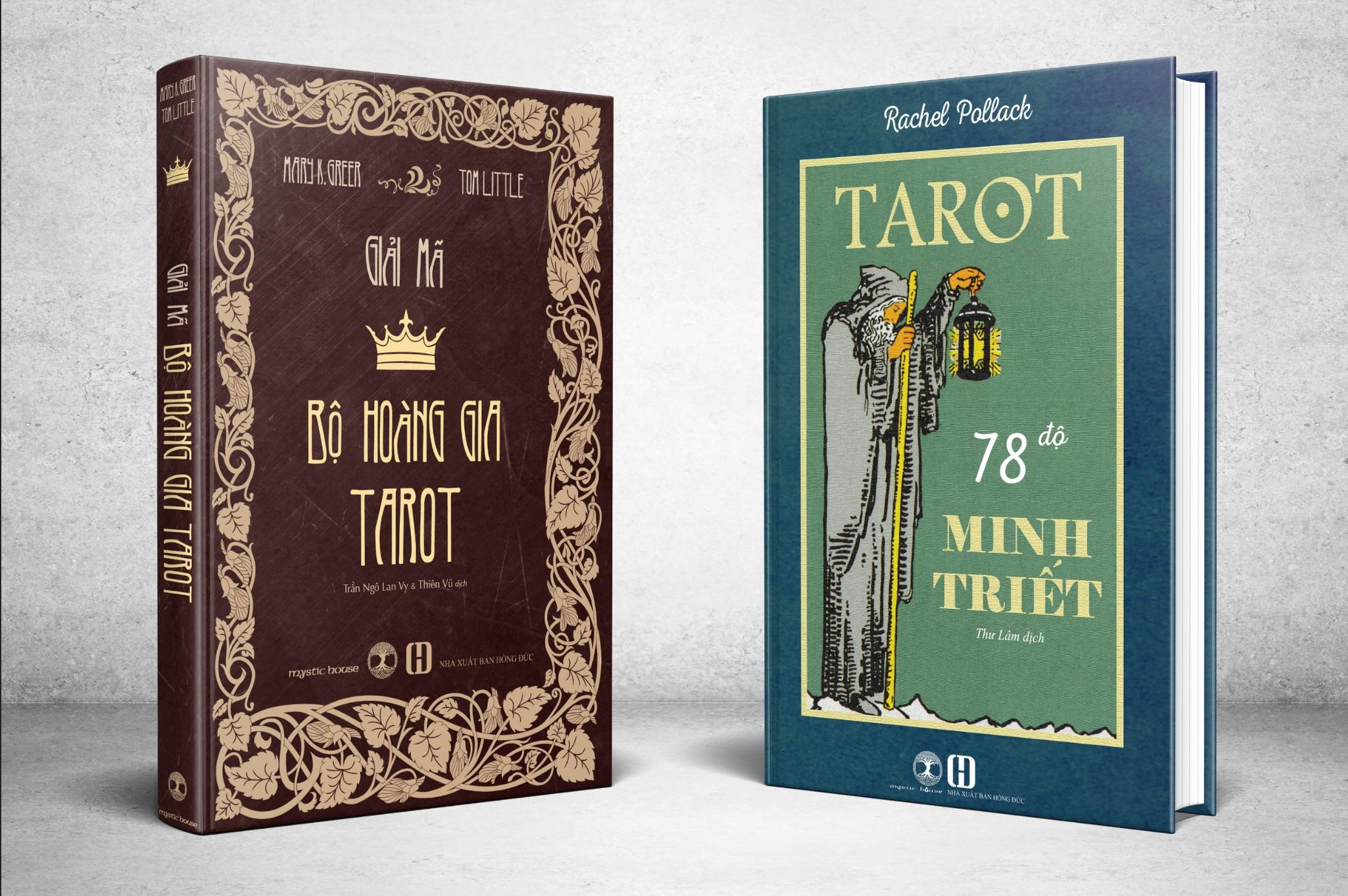 Combo Sách Tarot 78 Độ Minh Triết + Giải Mã Bộ Hoàng Gia Tarot 5