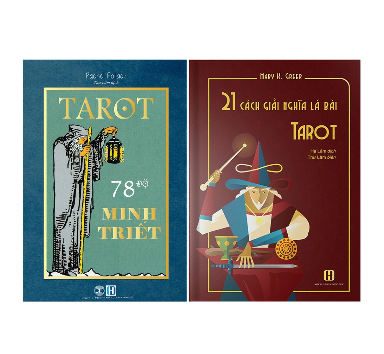 Combo Sách Tarot 78 Độ Minh Triết + 21 Cách Giải Nghĩa Lá Bài Tarot 9
