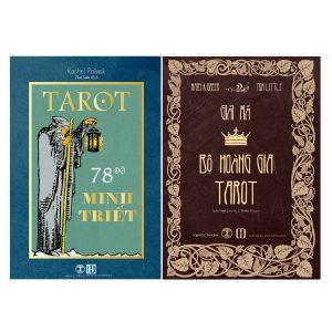 Combo Sách Tarot 78 Độ Minh Triết + Giải Mã Bộ Hoàng Gia Tarot 8