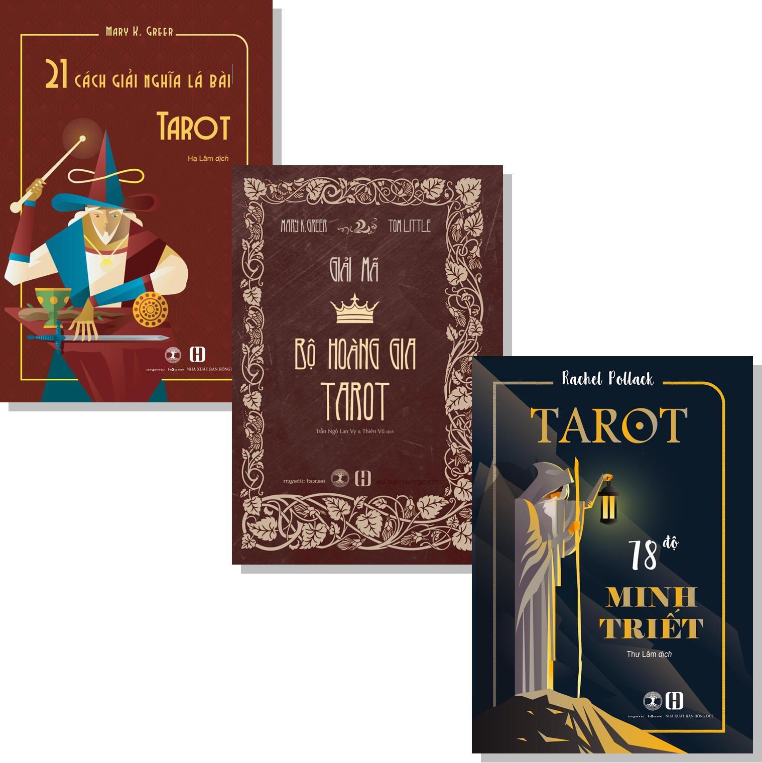 Combo 3 Cuốn Sách Nhập Môn Tarot Cho Người Tự Học 31