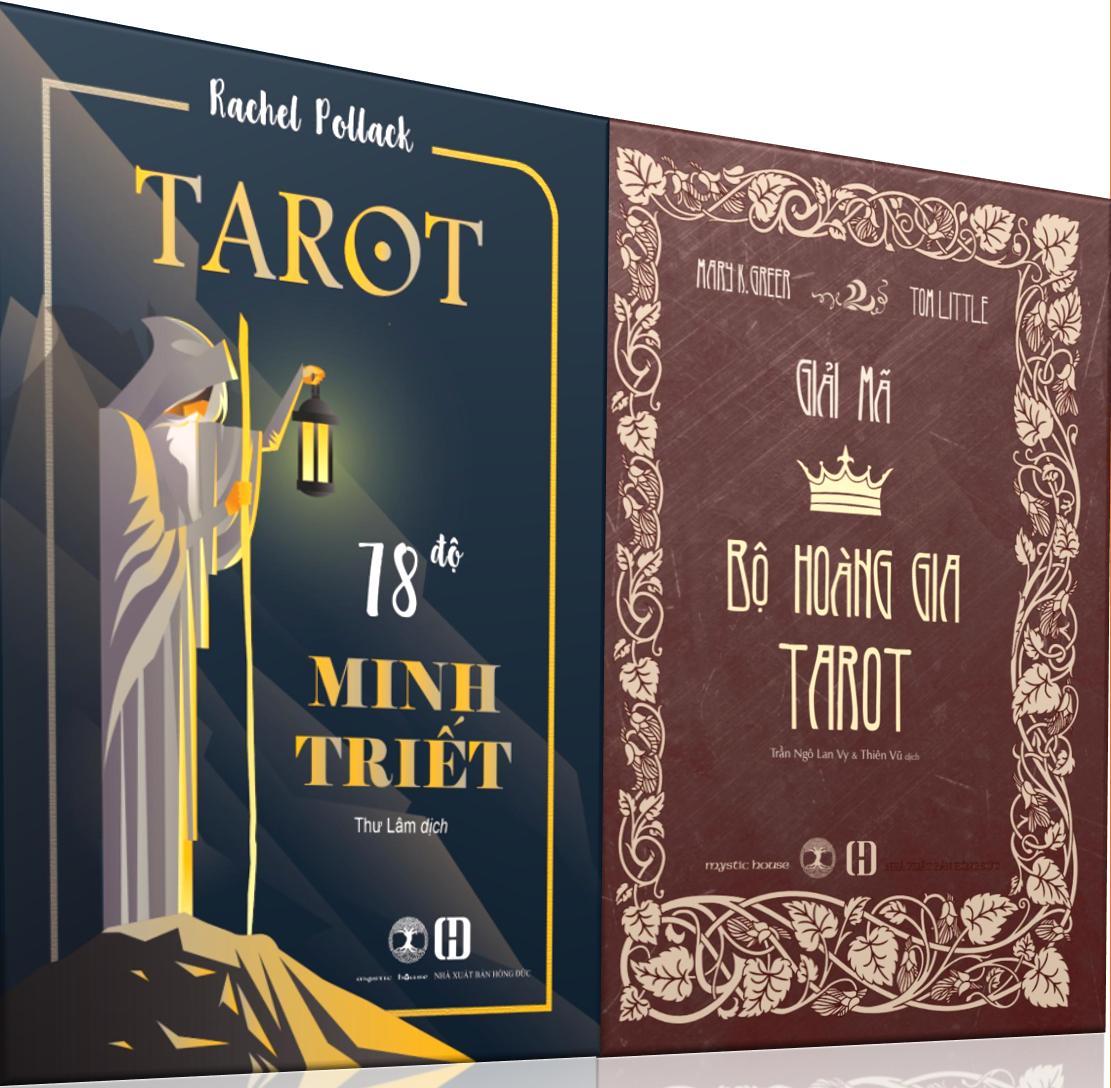 Combo Sách Tarot 78 Độ Minh Triết + Giải Mã Bộ Hoàng Gia Tarot 15