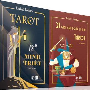 Combo Sách Tarot 78 Độ Minh Triết + 21 Cách Giải Nghĩa Lá Bài Tarot 10