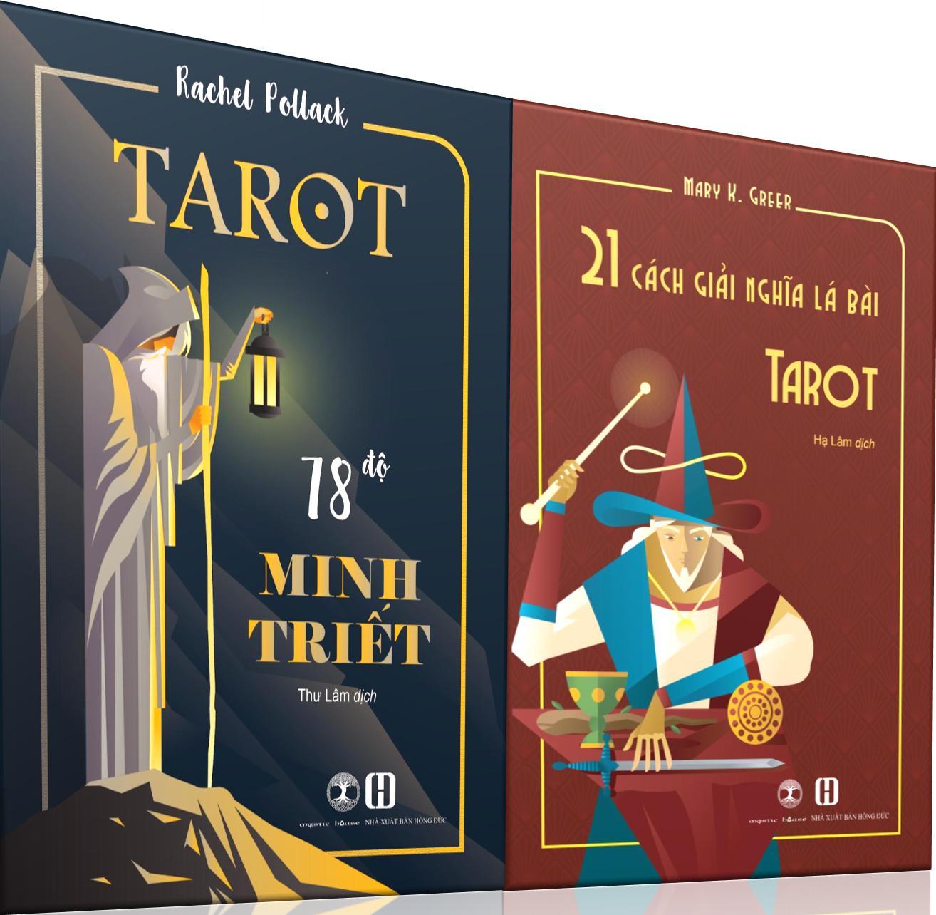 Combo Sách Tarot 78 Độ Minh Triết + 21 Cách Giải Nghĩa Lá Bài Tarot 33