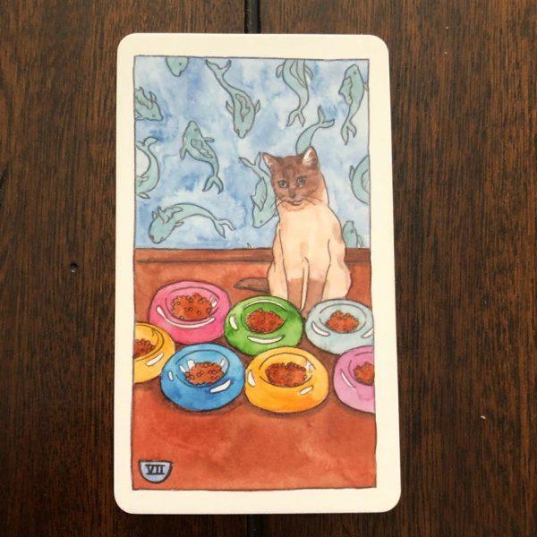 Cat Tarot 4