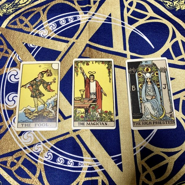 Khan trai bai Tarot Wicca Star Crescent (2)