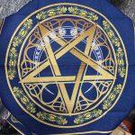 Khan trai bai Tarot Wicca Star Crescent (3)