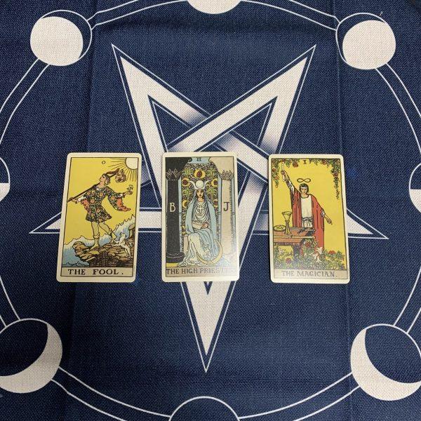 Khan trai bai Tarot Wicca Star Moon Phase (3)
