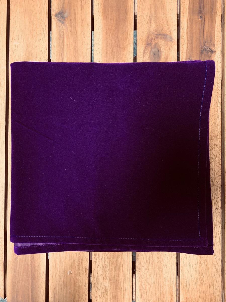 Khăn Trải Bài Tarot Violet Velvet (Tím) 13