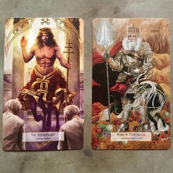 78 Tarot Mythical 4
