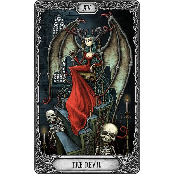 Dark Mansion Tarot 4