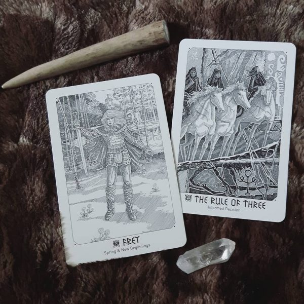 Yggdrasil Norse Divination Cards 6