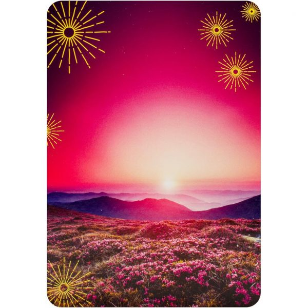 Notes from the Universe on Abundance Cards 3