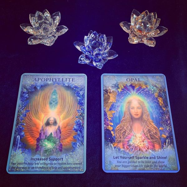 Crystal Angels Oracle Cards 10