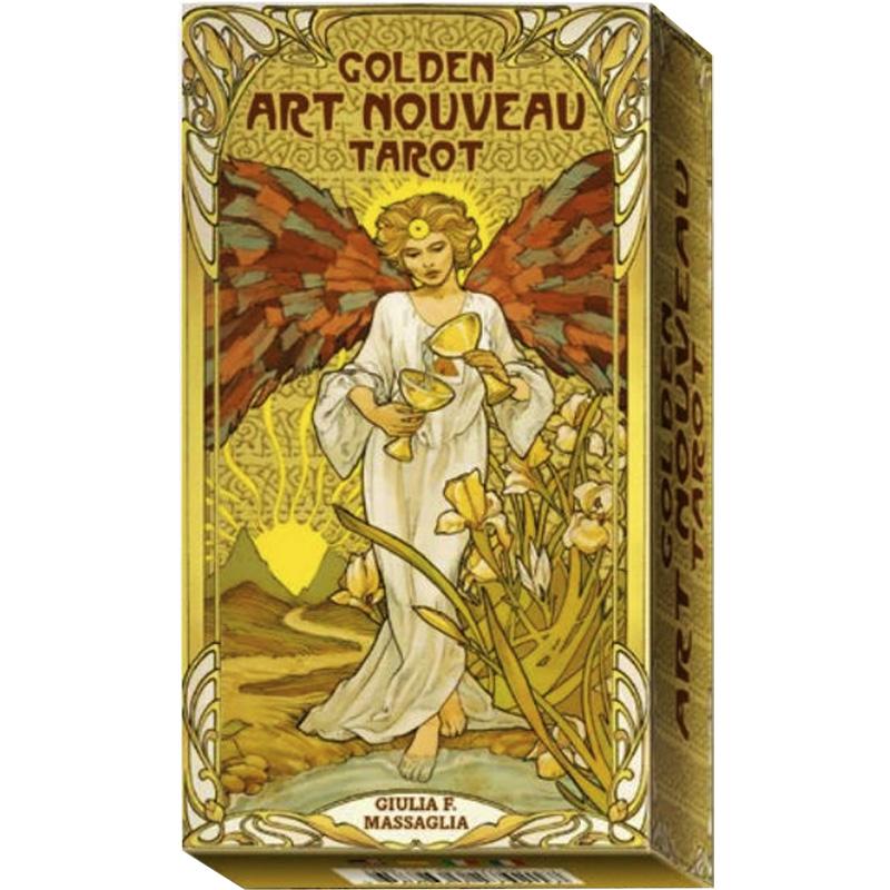 Golden Art Nouveau Tarot 21