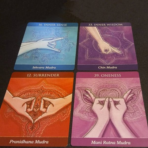 Mudras for Awakening the Five Elements 13