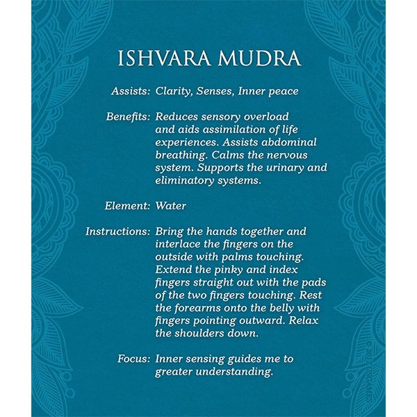 Mudras for Awakening the Five Elements 5