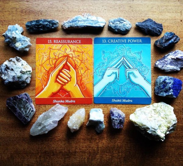 Mudras for Awakening the Five Elements 8