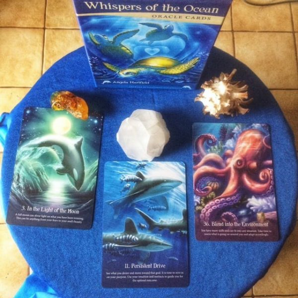 Whispers of the Ocean Oracle Cards 9