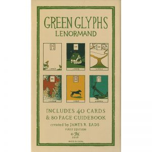 Green Glyphs Lenormand 6