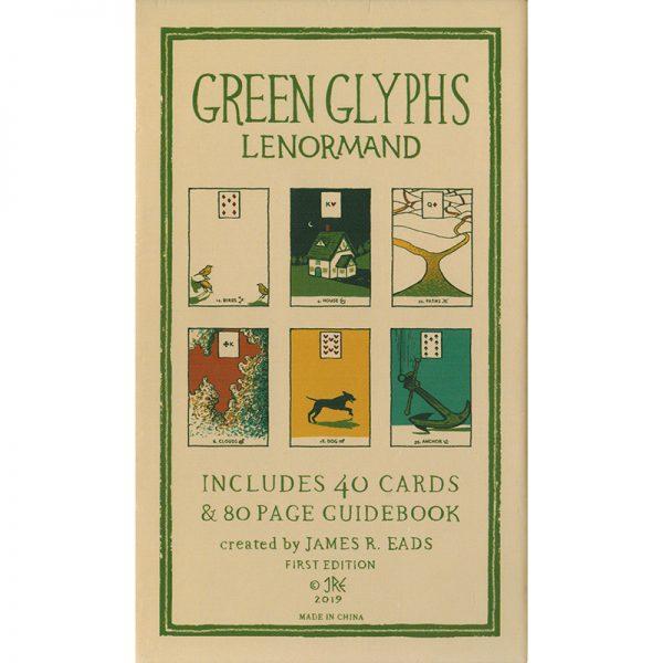 Green Glyphs Lenormand 1