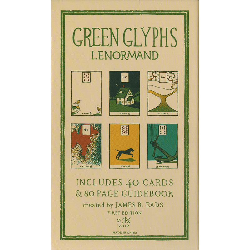 Green Glyphs Lenormand 13