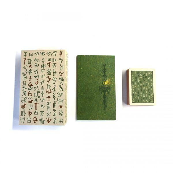 Green Glyphs Lenormand 3