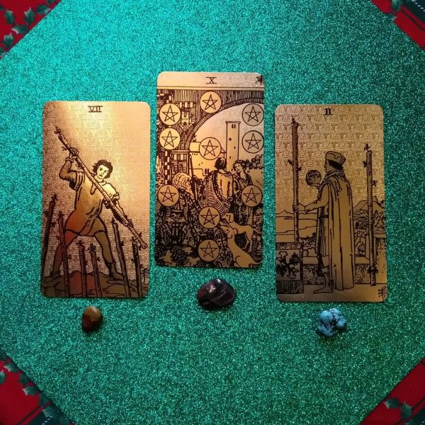 Tarot Black and Gold Edition 9