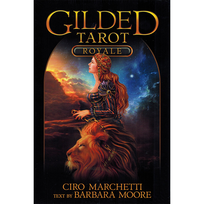 Gilded Tarot Royale - Bookset Edition 13
