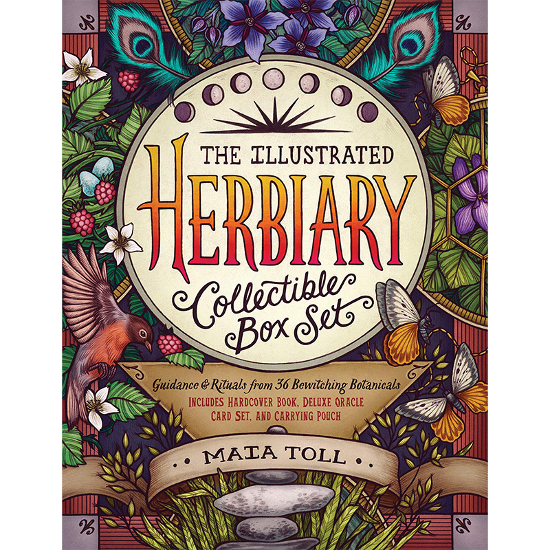 Illustrated Herbiary Collectible Box Set 27