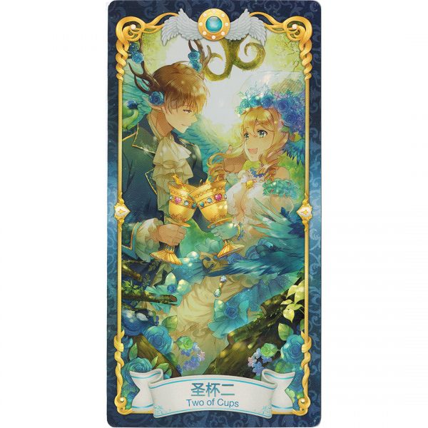 Manhua Tarot 8
