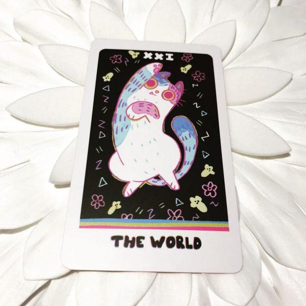 Weird Cat Tarot 12