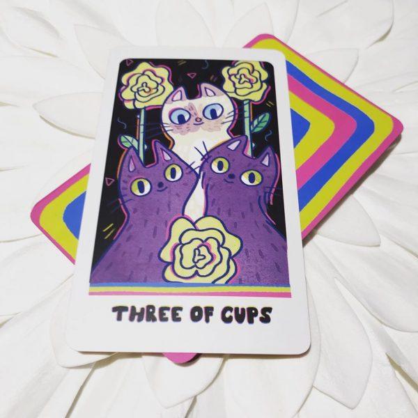 Weird Cat Tarot 3