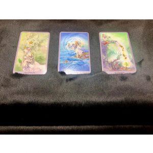 Khăn Trải Bài Tarot Sacred Black (Đen) 10