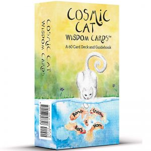 Cosmic Cat Wisdom Cards 24