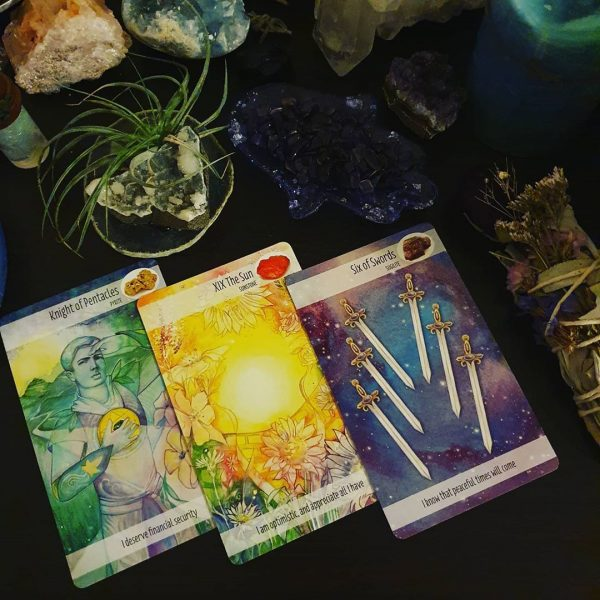 Crystal Power Tarot 8