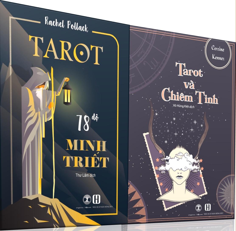 Combo Sách Tarot 78 Độ Minh Triết + Tarot và Chiêm Tinh 9