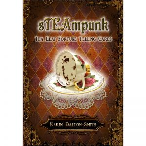 Steampunk Tea Leaf Fortune Telling Cards 22